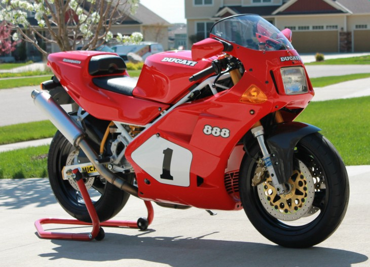 1992 Ducati 888 SP4 for sale