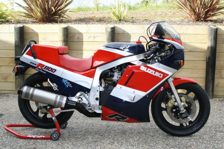 Almost New: 1986 Suzuki GSX1100R in New Zealand