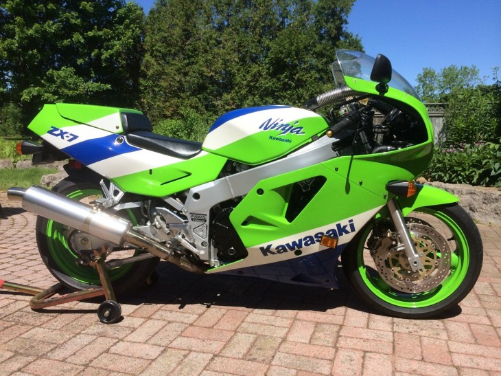 No Reserve H1:  1989 Kawasaki ZX7 for sale in New York