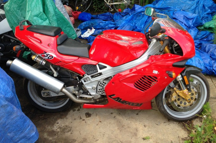 Red, Rare, and Italian:  </BR> 1999 Laverda 750S in Alabama (relisted)