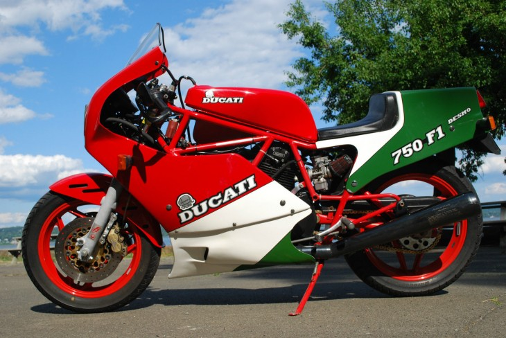 1986 Ducati 750 F1B Tricolore Available in New York