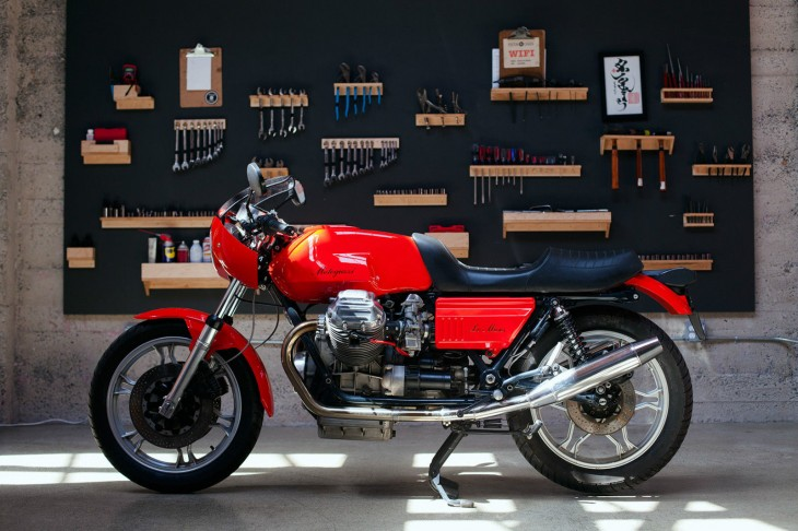 Featured Listing:  1980 Moto Guzzi Lemans MK2 available in San Francisco