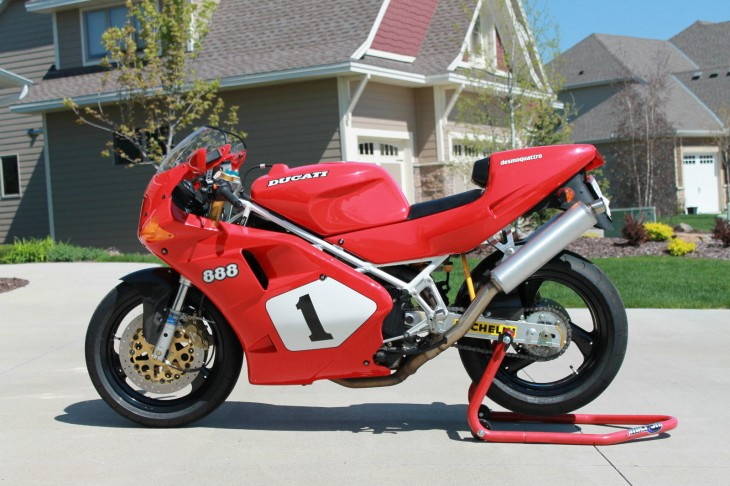 A Rare Opportunity in the U.S. – 1992 Ducati 888 SP4 #465