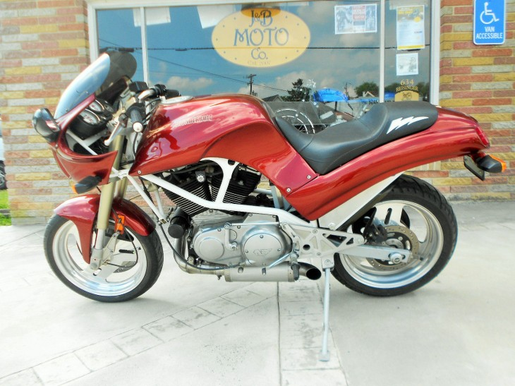Silk Purse Out of a Sow's Ear: 1995 Buell Thunderbolt