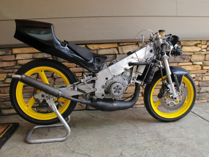 1995 Yamaha TZ125 R Side Naked