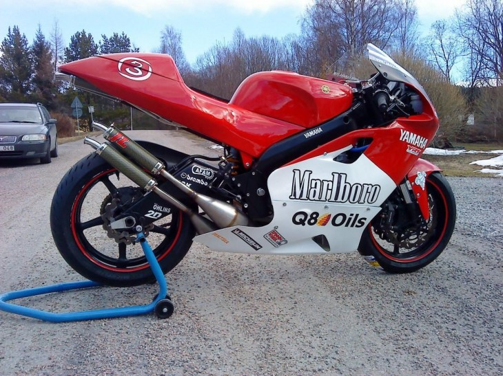 Even Better Than the Real Thing? Yamaha YZR500 GP Replica