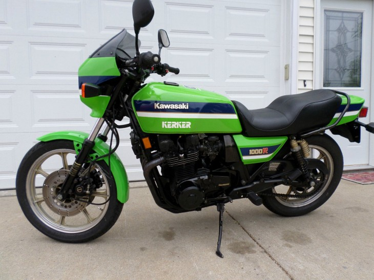 As Green as it Gets:  1983 Kawasaki Eddie Lawson Replica
