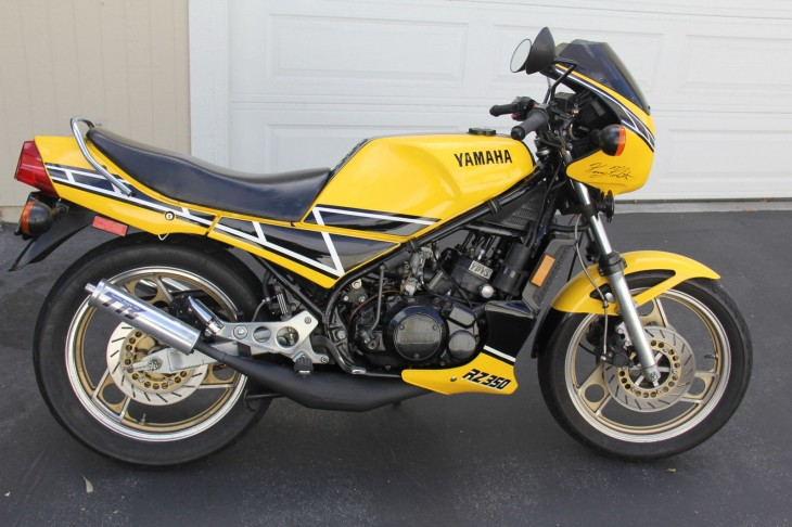 1985 RZ 350 Kenny Roberts in California