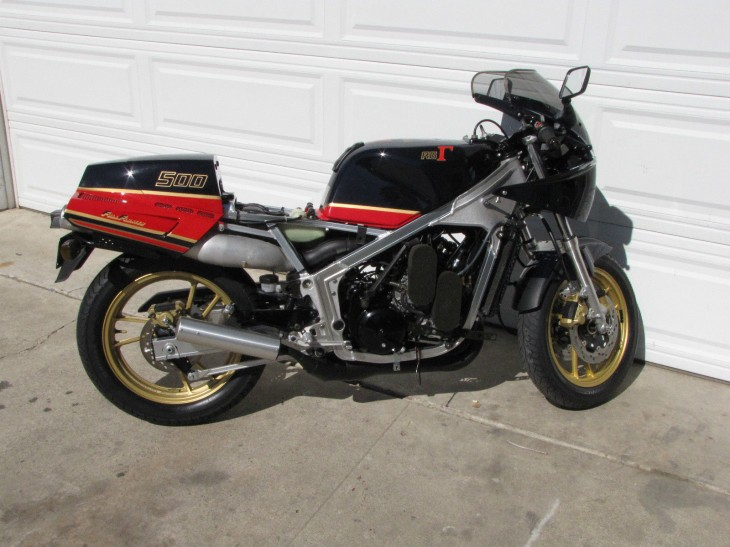 1986 Suzuki RG500 Gamma R Side No Fairing