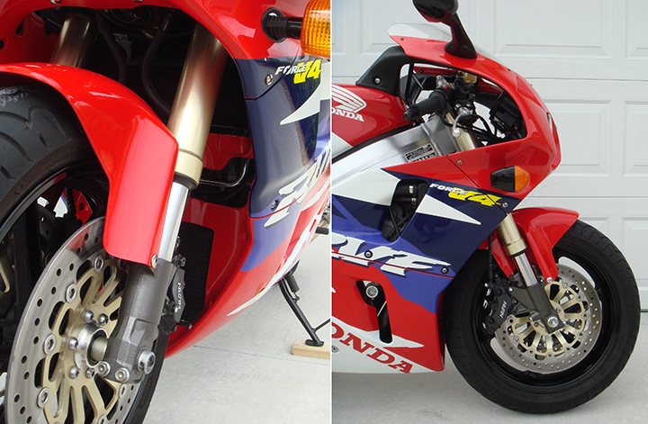 1994 RC45 Front and Fairing