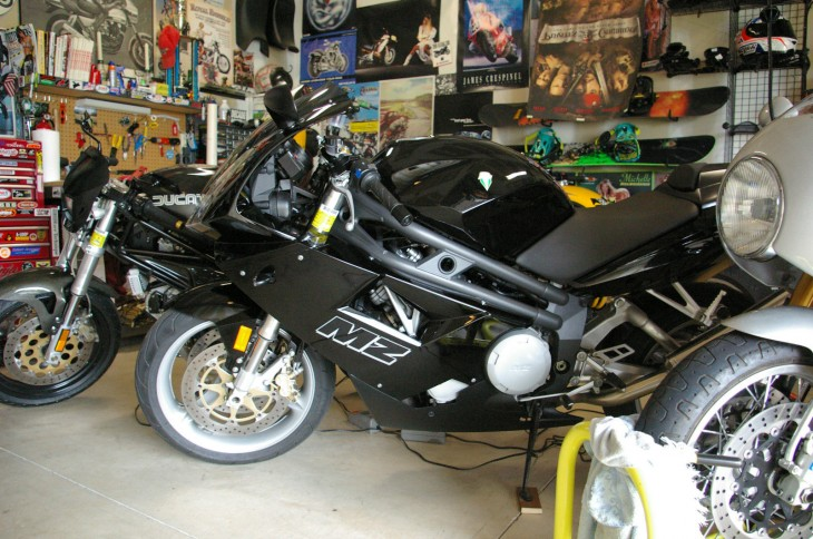 2005 MZ 1000S L Side Garage