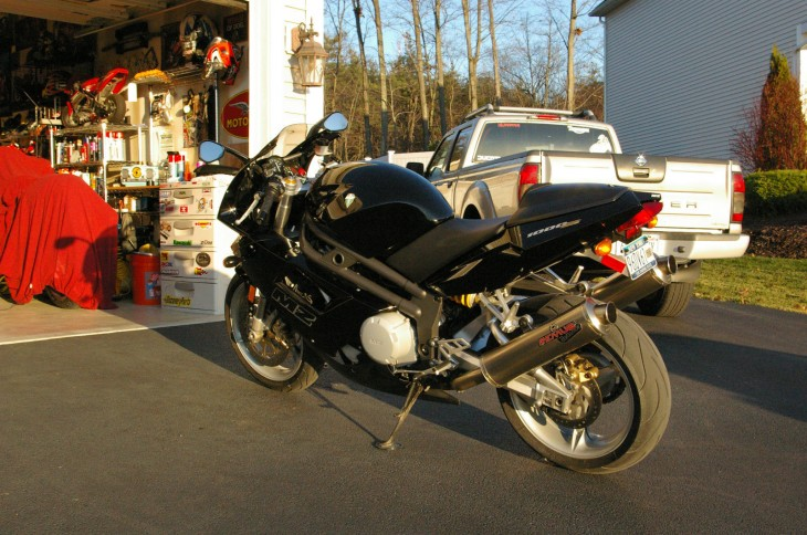 2005 MZ 1000S L Side Rear