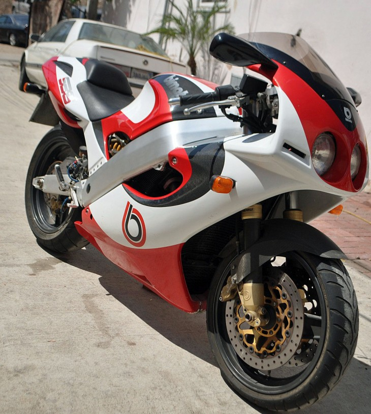 Looking out for #1: 1995 Bimota SB6 Serial Number 001