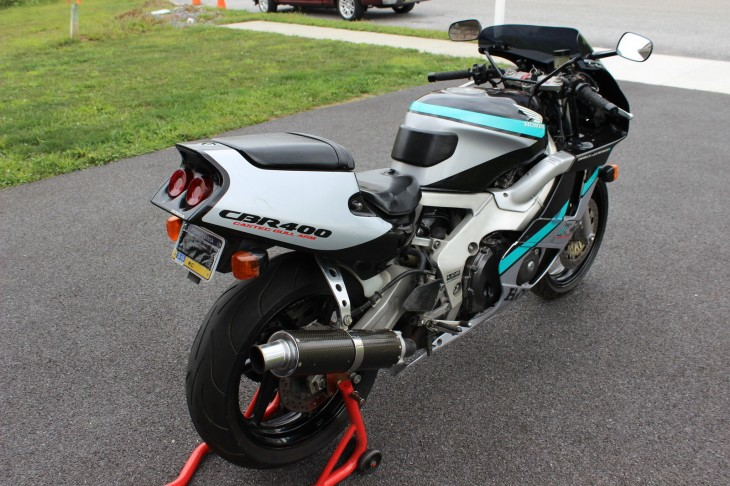 1990 Honda CBR400RR R Side Rear