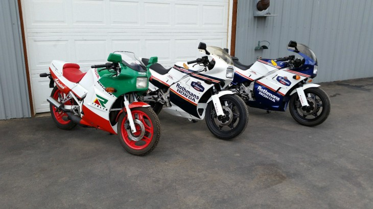 Instant collection:  Honda-NS125R-NS250R-NS400R