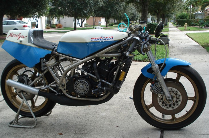 1980 Yamaha TZ350 R Side Unfaired