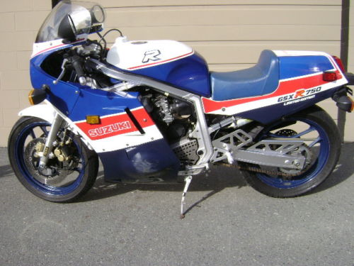 Setting the Standard for Performance: 1986 Suzuki GSX-R 750 Limited Edition