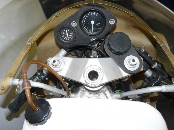 1989 Honda RS250 Dash