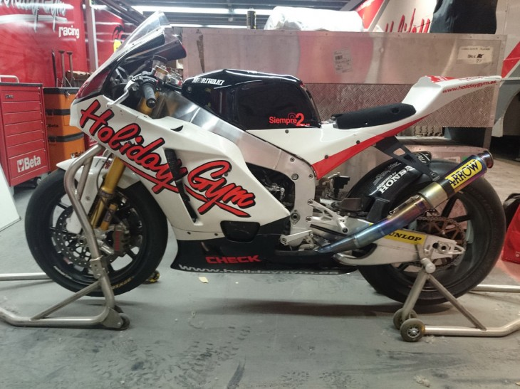 The Real Thing: 2010 Moriwaki MD600 Moto2 Race Bike for Sale