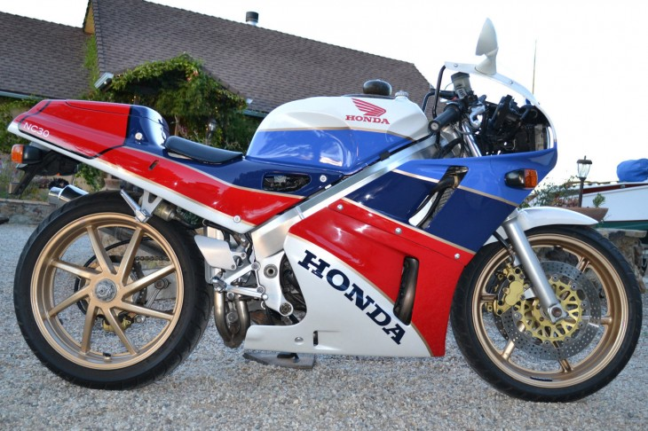 1992 Honda VFR400R NC30 available in California