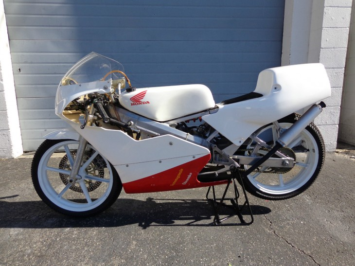 1994 Honda RS125 L Side