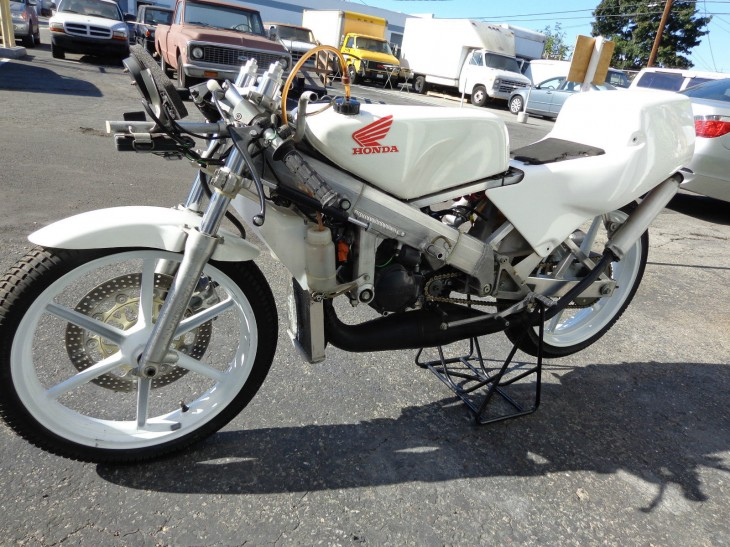 1994 Honda RS125 L Side Front No Fairing