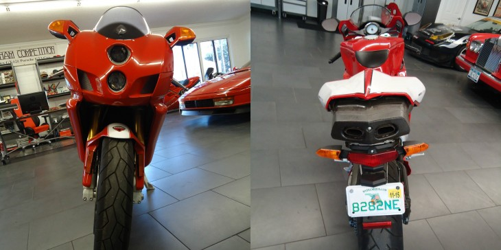 2005 Ducati 749R Front and Rear