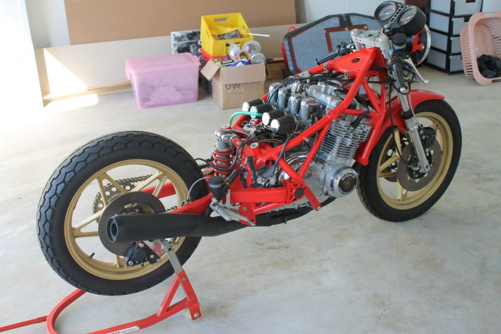 Bimota SB2 R Rear Naked