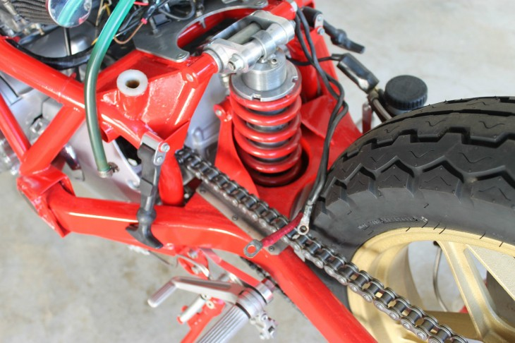 Bimota SB2 Rear Suspension
