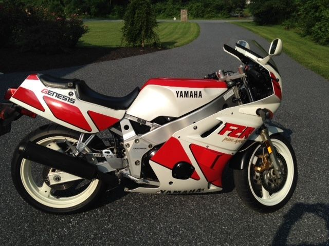 Fun with Fizz:  1988 Yamaha FZR400