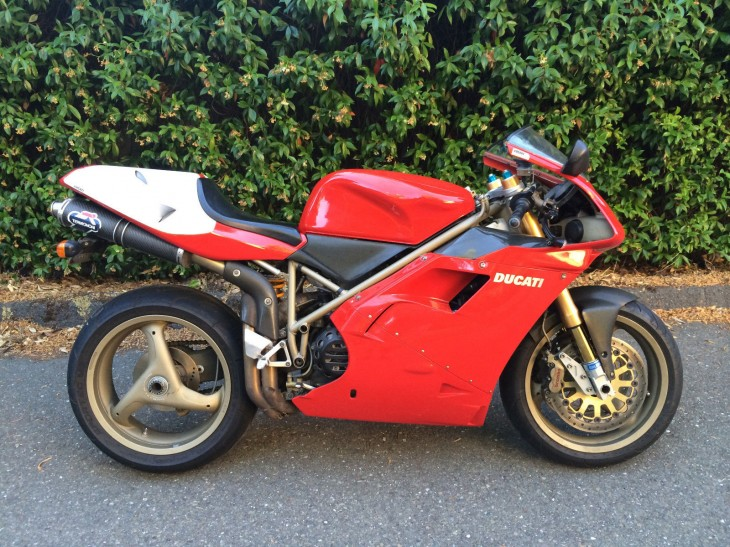 Fools need not apply:  1998 Ducati 916 SPS