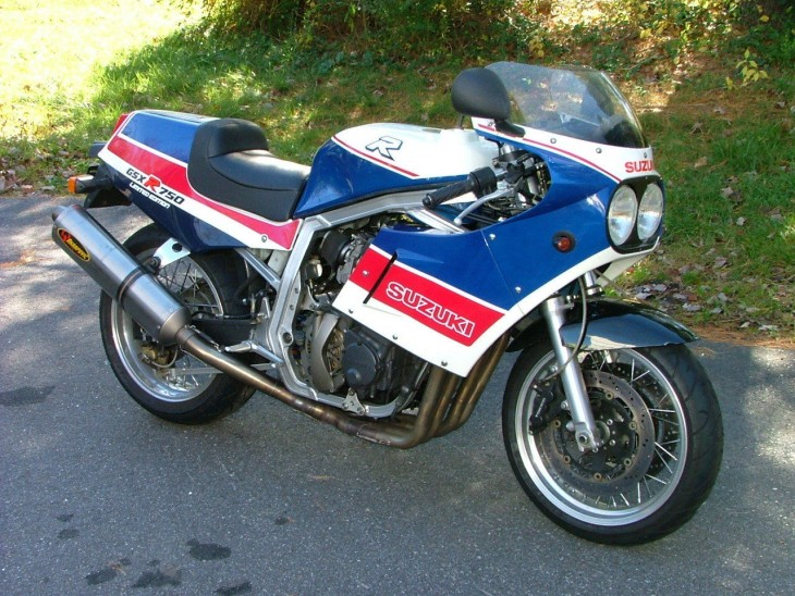 Move Fast: 1986 GSX-R750 Limited Edition