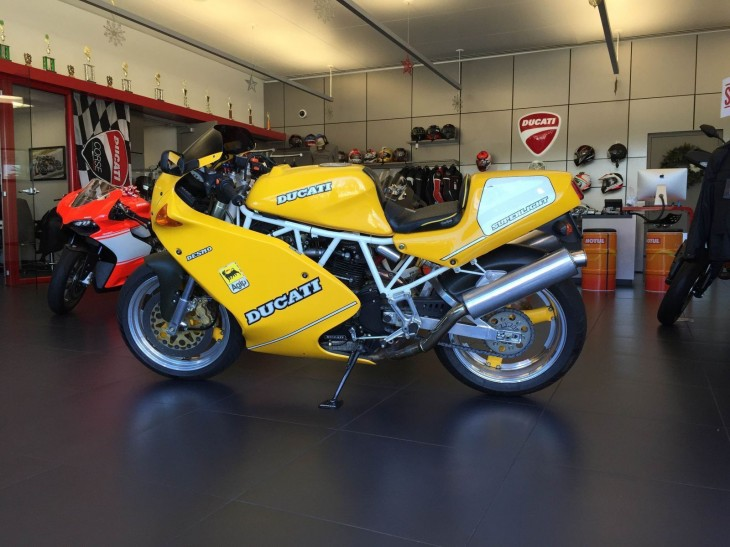 1993 Ducati Superlight L Side