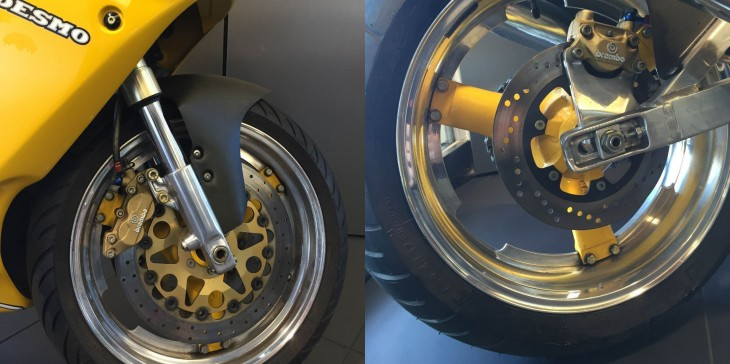 1993 Ducati Superlight R Side Front Wheel