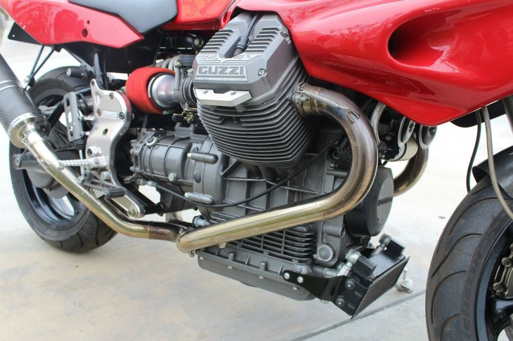 1997 Moto Guzzi Daytona RS R side Engine