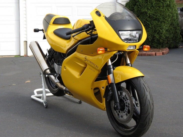 The People's Sportbike: 2001 MZ Skorpion Sport Cup