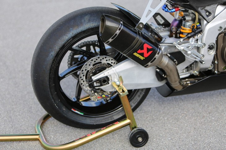 2013 Aprilia RSV4 Factory SBK R Side Rear Wheel