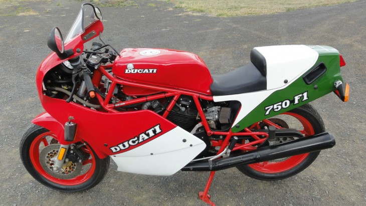 Never Started:  1985 Ducati 750 F1