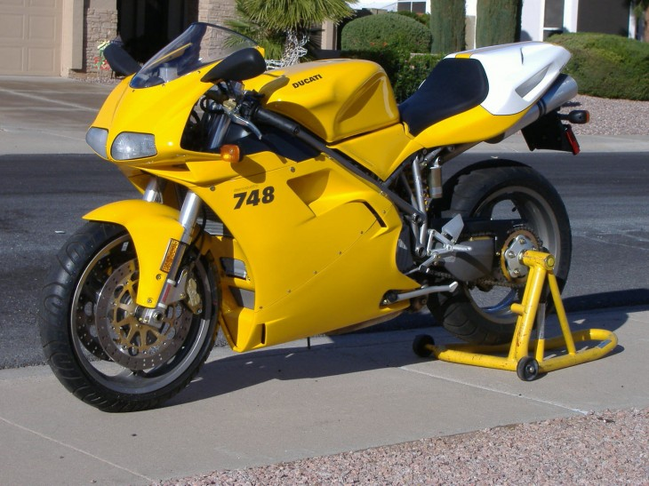 Nearly New 2001 Ducati 748 For Sale in Scottsdale