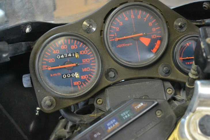 1986 Honda NS400R Dash