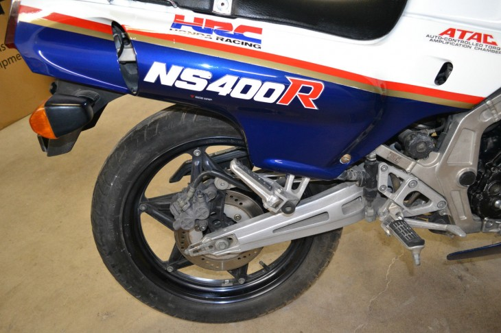 1986 Honda NS400R R Rear Suspension