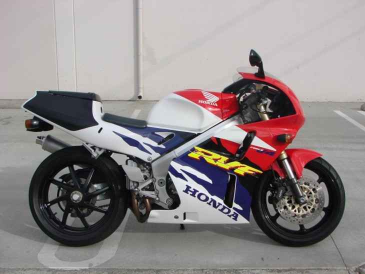 1996 Honda RVF400 R Side