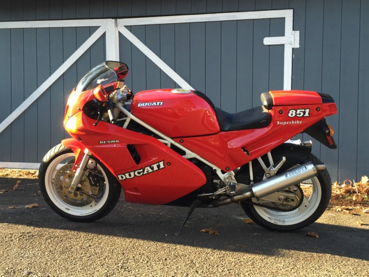 Tipping Point: 1991 Ducati 851 Strada