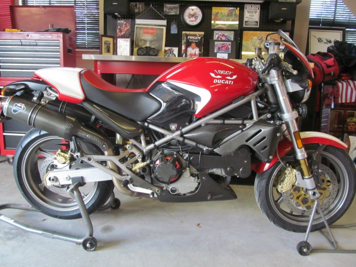 foghat 2002 ducati monster s4 carl fogarty edition rare. Black Bedroom Furniture Sets. Home Design Ideas