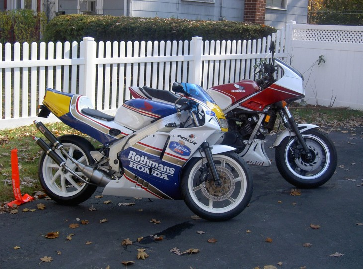 1992 Honda NSR250SP Repsol R Side
