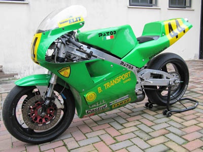 SOLD:  1989 Moto Paton 500cc four cylinder two stroke
