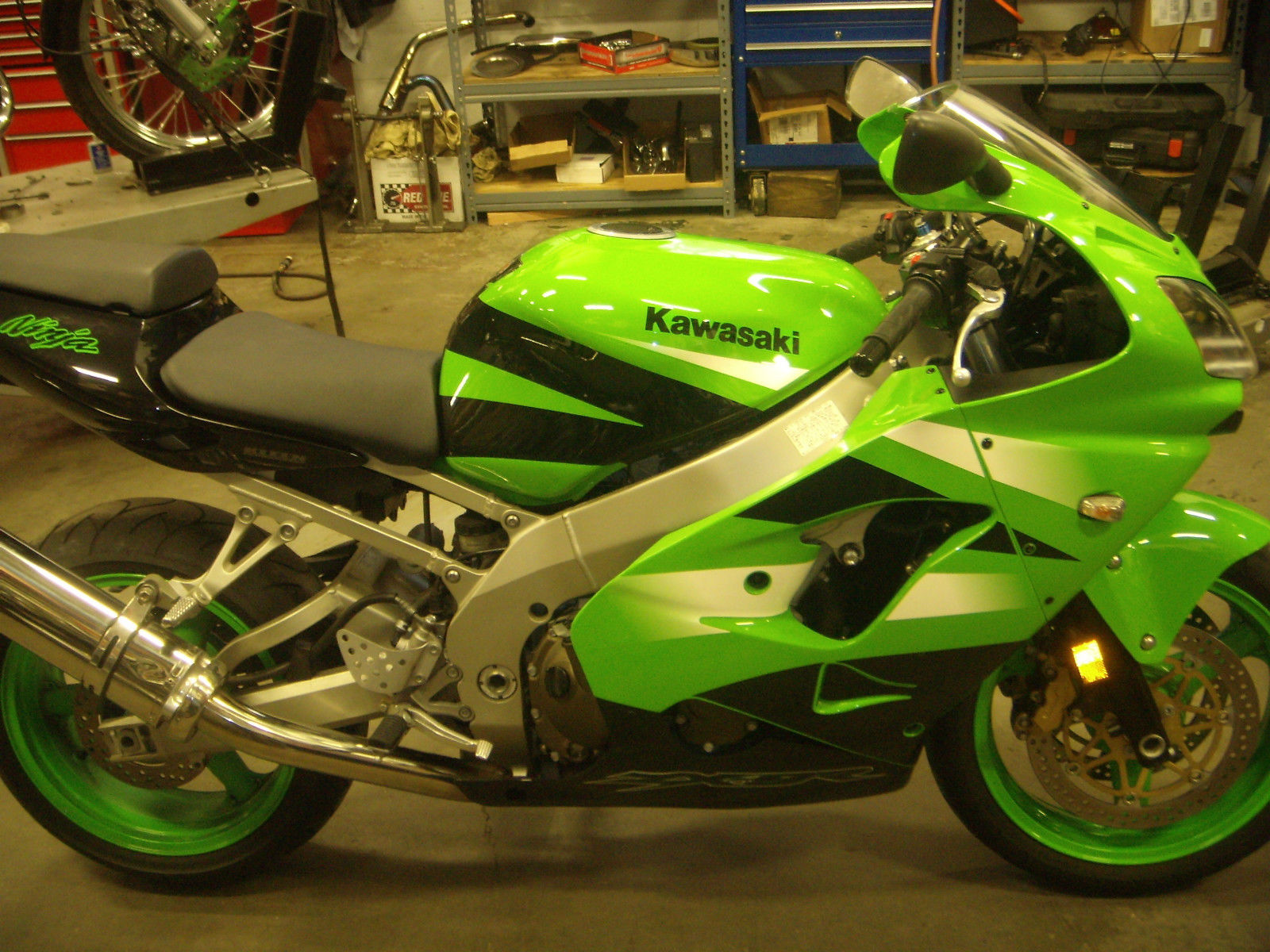 900cc Of Green 2002 Kawasaki Ninja Zx 9r Rare Sportbikes For Sale