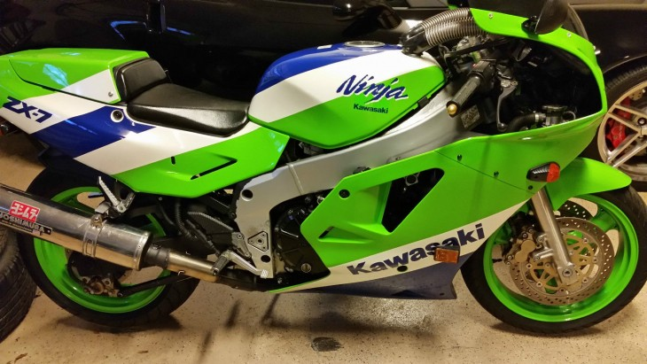 Low-Mileage Ninja: 1989 Kawasaki ZXR-750 H1 for Sale
