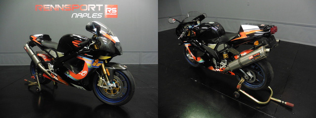 Fast and Collectible: 2003 Aprilia RSV Mille R Colin Edwards Edition