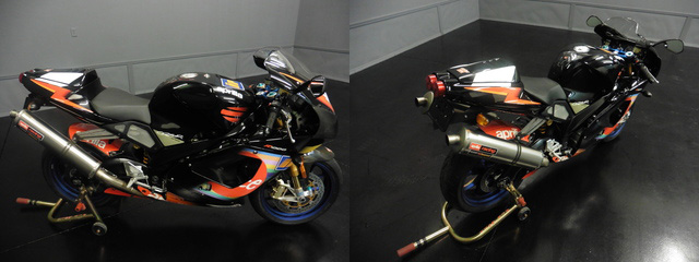 2003 Aprilia RSV Mille Colin Edwards 5